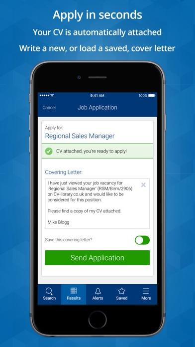 Cv Library Job Search Revenue Download Estimates App Store Us