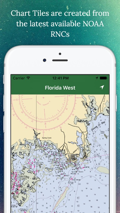 Marine Charts Offline: Florida West Coast