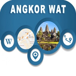 Angkor Wat Cambodia  Offline Map Navigation TOUR