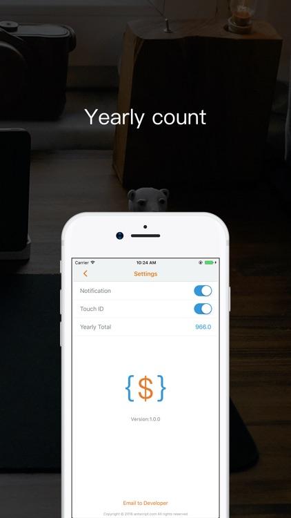 DevCost - Cost tool for developer screenshot-4