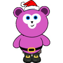 Cute Santa Bear stickers by CandyA$$