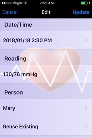 Monitor My BP - náhled