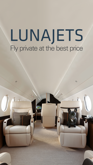 Lunajets Private Jets Charter Private Jet Prices On The App Store