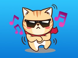 Chloe The Cat Expression Sticker