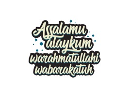 Islamic Phrases Stickers