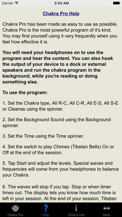 Chakra Pro screenshot-4
