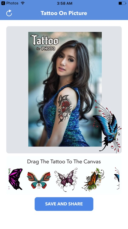 Add Tattoos To Your  Picture : Photo Maker HD