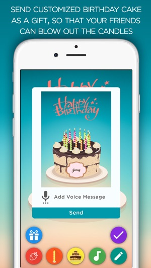 Birthday Cake - Blow out the candles on the App Store