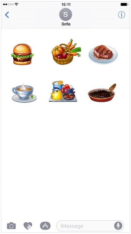 Cooking Fever Stickers - Mega Pack screenshot-3