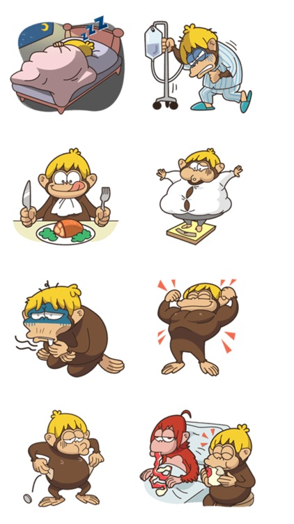 Adventurous Monkey Stickers screenshot-3