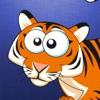 動物パズル幼児向けの学習キッズゲームを2年