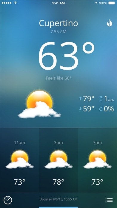 Today Weather Screenshot