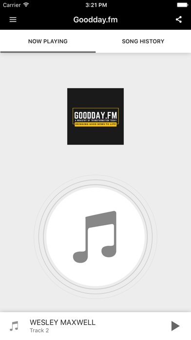 Goodday.fm screenshot one