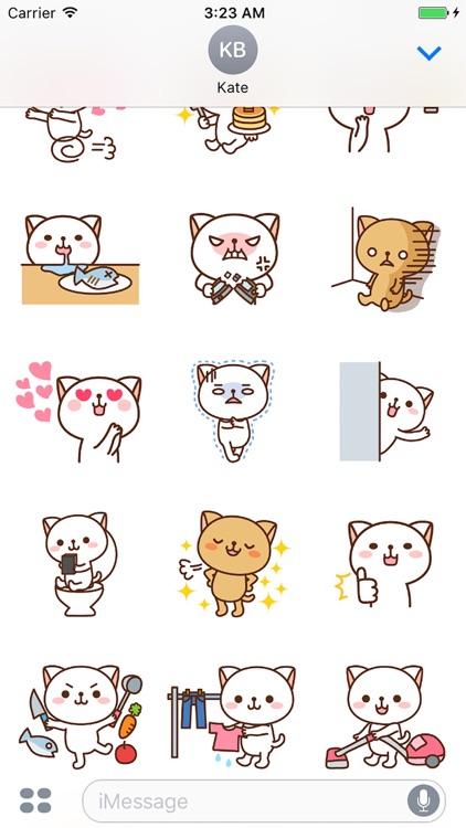 Pretty Cats Sticker