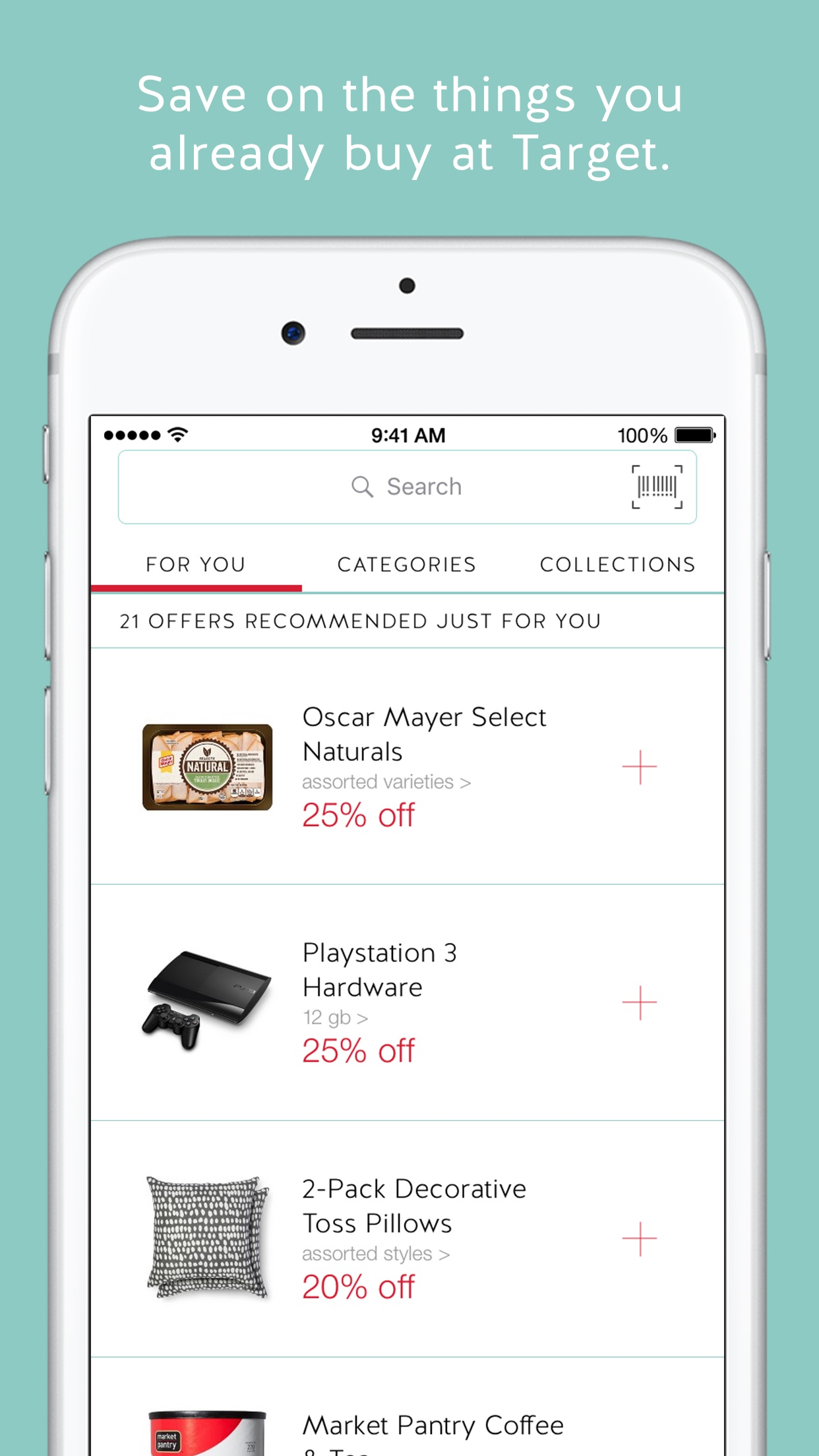 Cartwheel by Target Screenshot