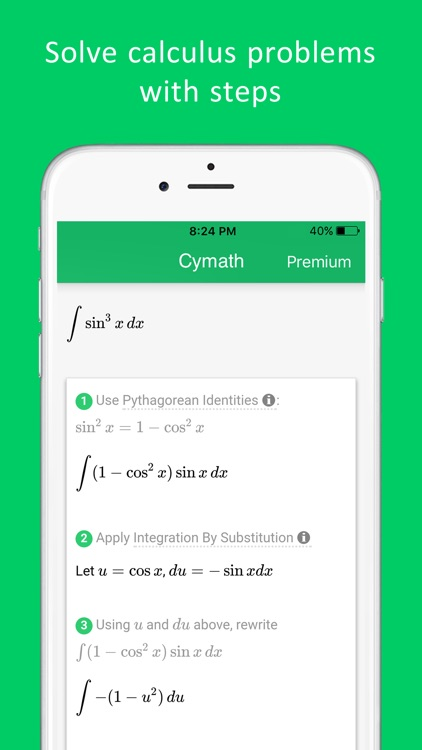 Cymath - Math Problem Solver screenshot-4
