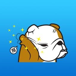 Billo The BullDog Expression Sticker