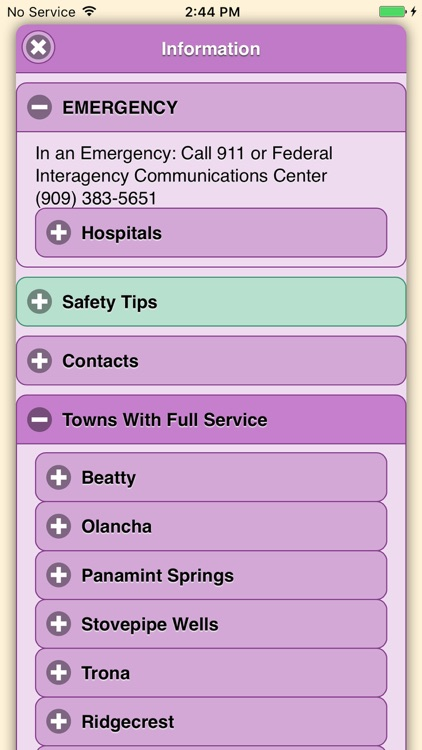 Panamint Map App screenshot-3
