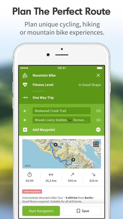Komoot - Cycling & Hiking Routes & GPS Navigation