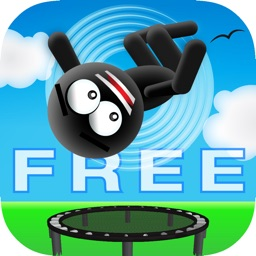 Stickman Trampoline - Backflip & Frontflip Action!