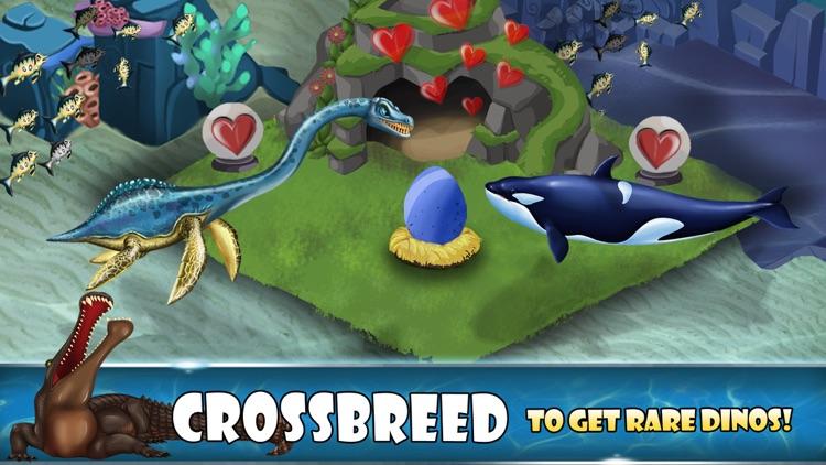 Dino Water World: Jurassic Dinosaur Fighting games screenshot-3