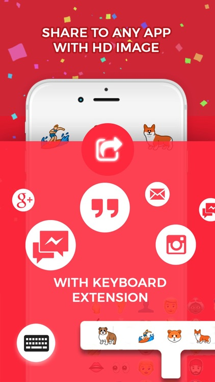 Emojis & Stickers for Keyboard, iMessage & More screenshot-2