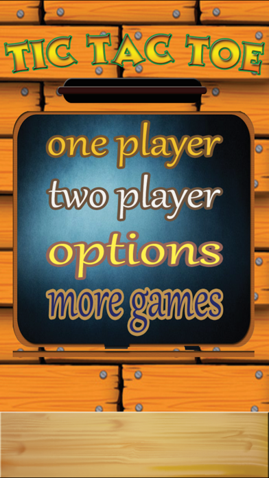 TicTacToe - One & Two Player screenshot 1