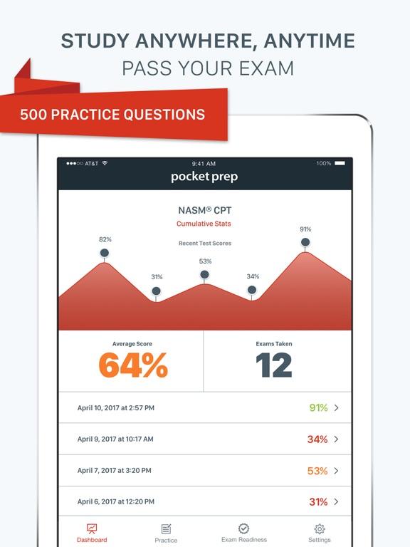 NASM CPT Pocket Prep | App Price Drops