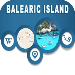 Balearic Islands Spain OfflineMap Navigation GUIDE