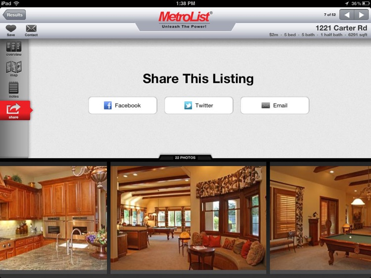 MLS PRO Real Estate for iPad screenshot-4