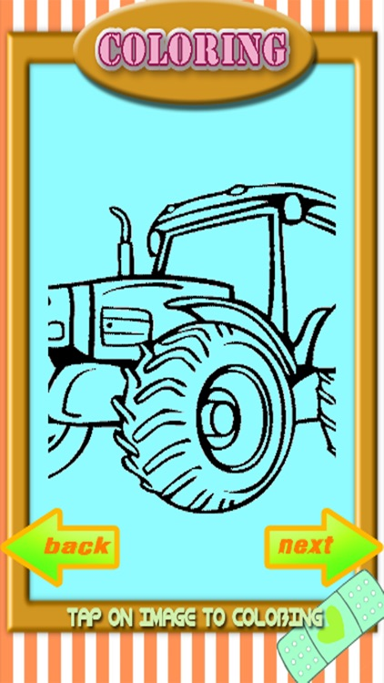 My Tractor Games And Coloring Book For Kids app image