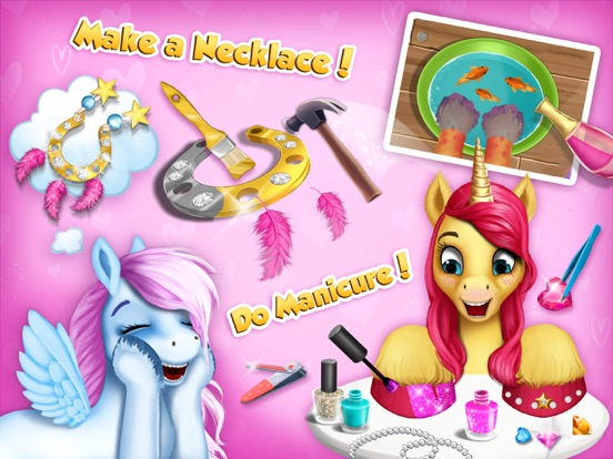 Pony Girls Horse Care Resort 2 - Style & Dress Up screenshot 9