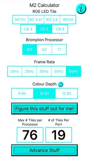 App Store M2 Calculator