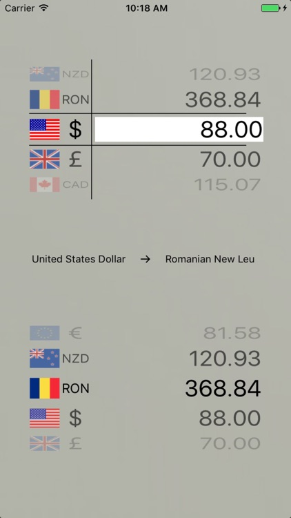Currency Converter Rates screenshot-3