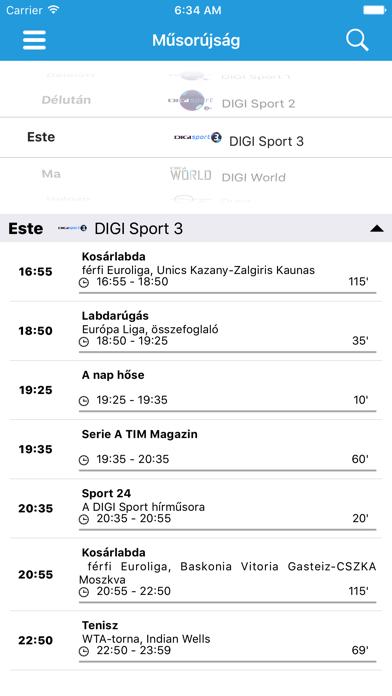DIGI Online HU screenshot two