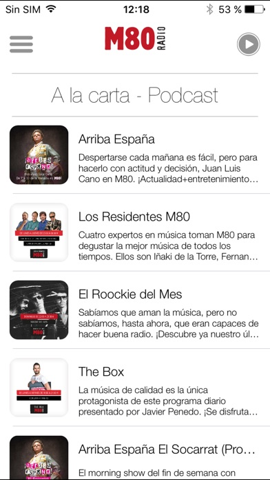 download M80 Radio para iPhone apps 0
