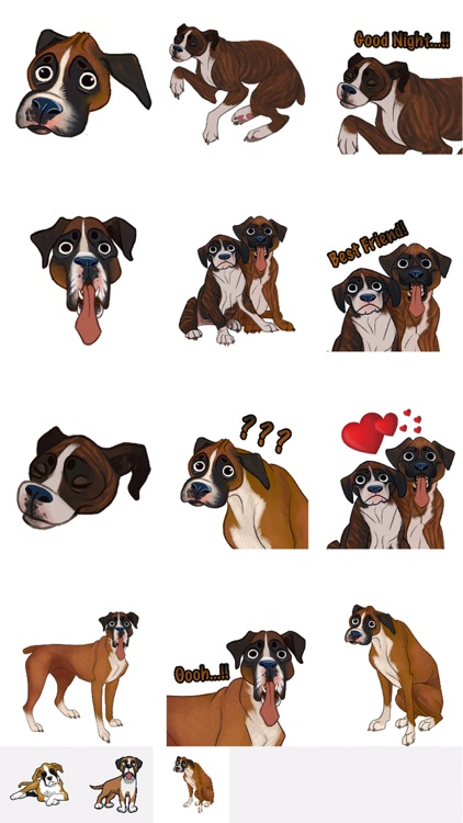 BoxerMoji - Boxer Emoji & Sticker screenshot-2