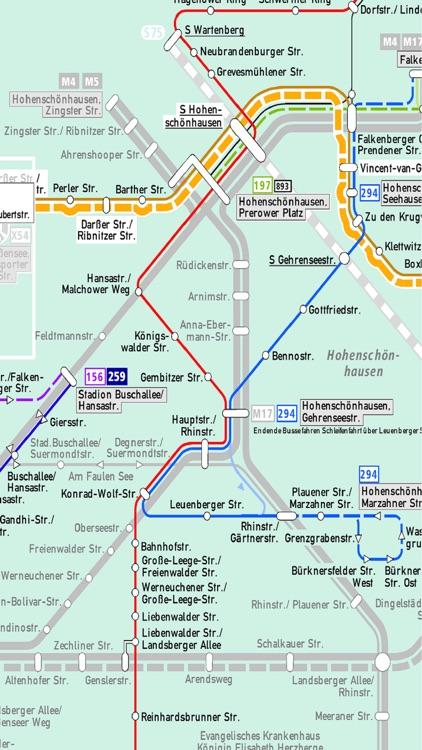 Berlin Subway U Bahn Metro S Bahn Train Bus Maps By Janice Ong - Berlin-us-bahn-map