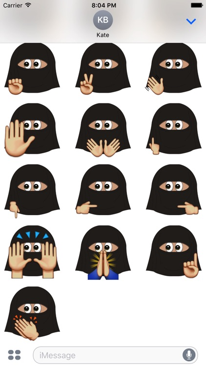 Burka Emoji screenshot-4
