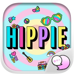 Hippie Art Retro Accessory Stickers for iMessage