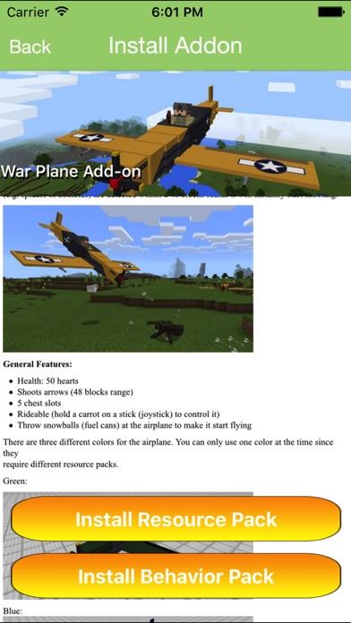 Guns & Transport Add ons for Minecraft PE MCPE - App - AppStore