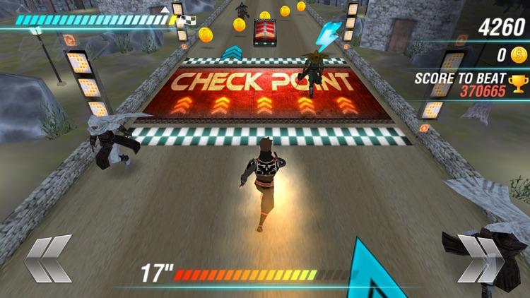 Ninja Creed Run . The Assassin Night screenshot-3