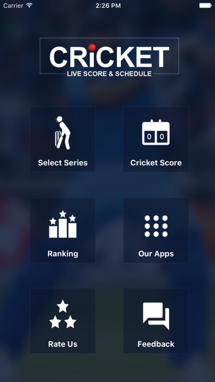 Cricket Live Score and Schedule screenshot-0