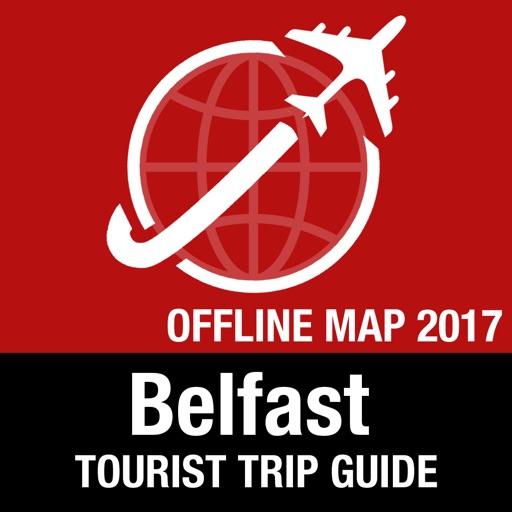 Belfast Tourist Guide + Offline Map