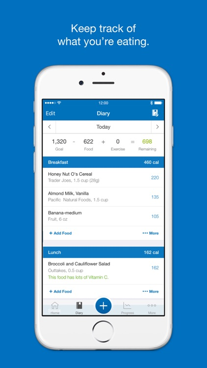 Calorie Counter & Diet Tracker by MyFitnessPal app image
