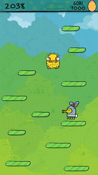 Doodle Jump Easter Special Screenshot