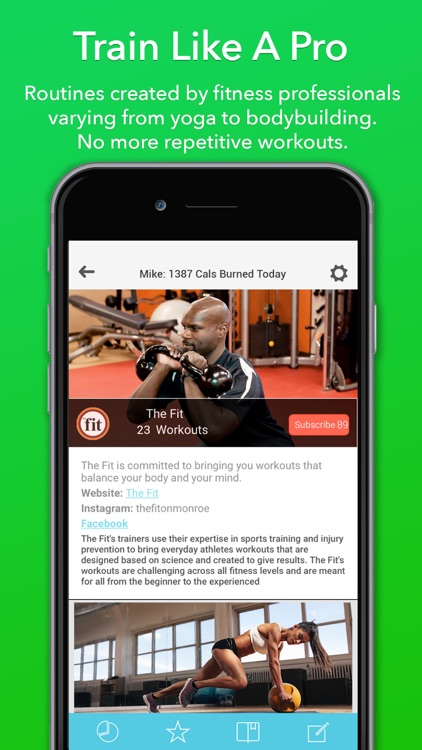 Updown Fitness - Gym & Home Personal Workout Coach screenshot-3