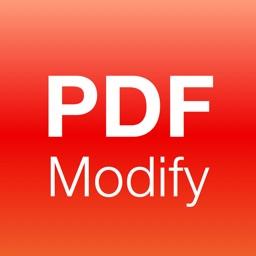 PDF Edit with PDF Modify - Merge, Reader, Convert