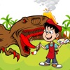 Dinosaurs T Rex Coloring Book Game For Kids