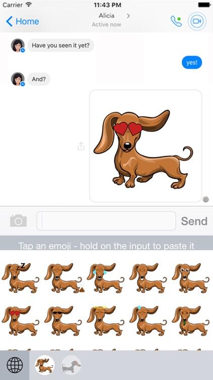 Doxiemoji - Dachshund Emoji & Stickers